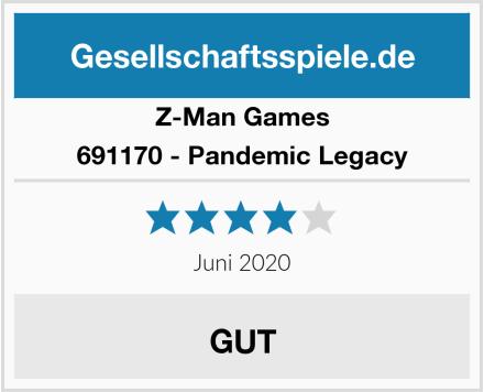 Z-Man Games  691170 - Pandemic Legacy Test