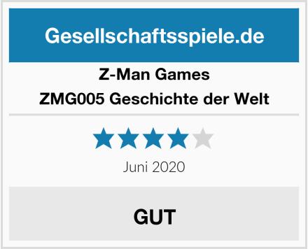 Z-Man Games ZMG005 Geschichte der Welt Test