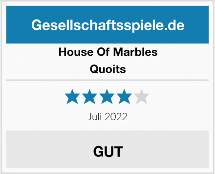 House Of Marbles Quoits Test