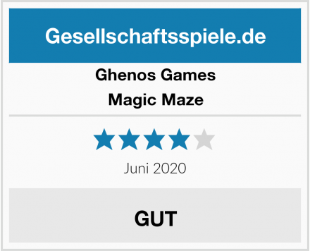 Ghenos Games Magic Maze Test
