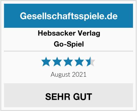 Hebsacker Verlag Go-Spiel Test