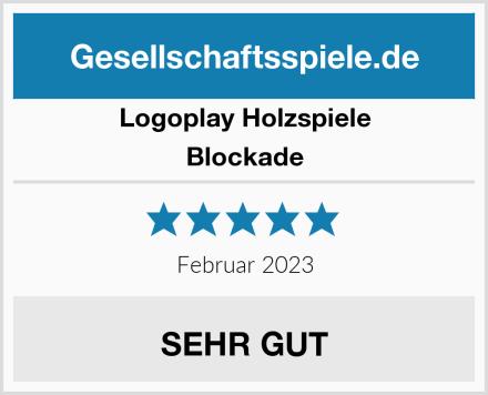Logoplay Holzspiele Blockade Test