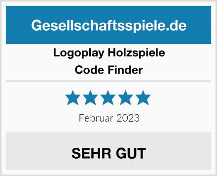 Logoplay Holzspiele Code Finder Test