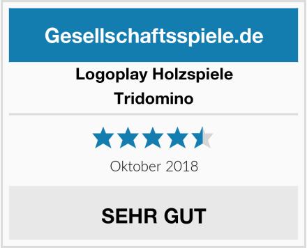 Logoplay Holzspiele Tridomino Test