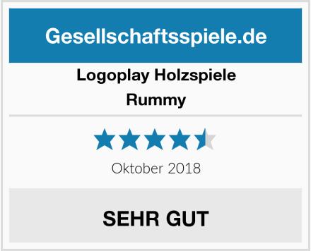 Logoplay Holzspiele Rummy Test