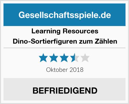 Learning Resources Dino-Sortierfiguren zum Zählen Test