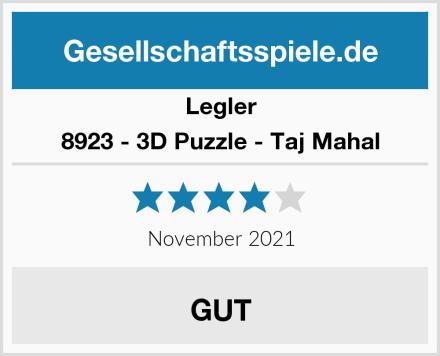 Legler 8923 - 3D Puzzle - Taj Mahal Test