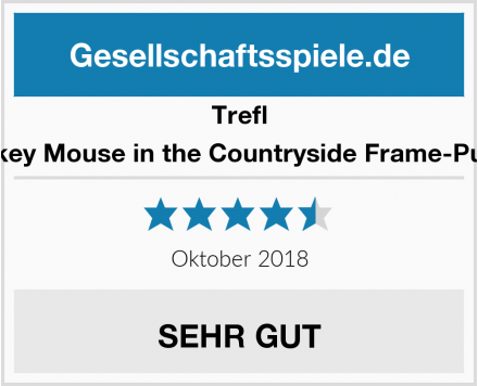 Trefl Mickey Mouse in the Countryside Frame-Puzzle Test