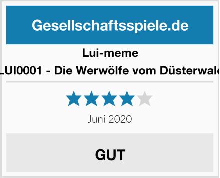 Lui-meme LUI0001 - Die Werwölfe vom Düsterwald Test