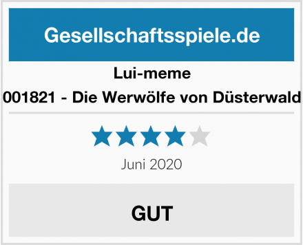 Lui-meme 001821 - Die Werwölfe von Düsterwald Test