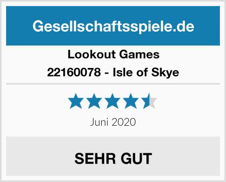 Lookout Games 22160078 - Isle of Skye Test