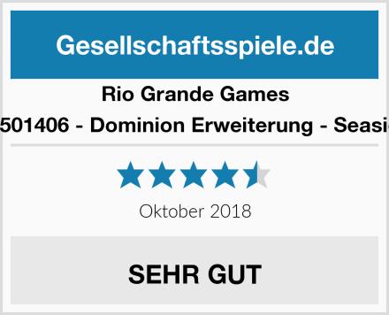 Rio Grande Games 22501406 - Dominion Erweiterung - Seaside Test