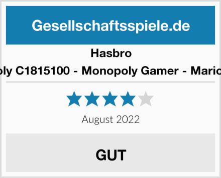 Hasbro Monopoly C1815100 - Monopoly Gamer - Mario Edition Test