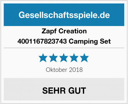 Zapf Creation 4001167823743 Camping Set Test