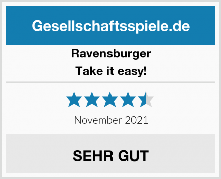 Ravensburger Take it easy! Test