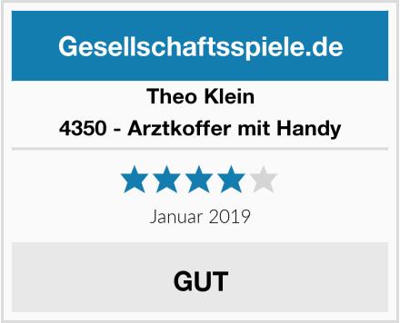 Theo Klein 4350 - Arztkoffer mit Handy Test