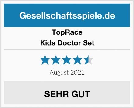 TopRace Kids Doctor Set Test