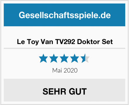 No Name Le Toy Van TV292 Doktor Set Test