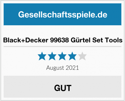 Black+Decker 99638 Gürtel Set Tools Test