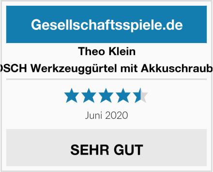 Theo Klein 8493 - BOSCH Werkzeuggürtel mit Akkuschrauber Ixolino Test