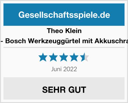 Theo Klein 8260 - Bosch Werkzeuggürtel mit Akkuschrauber Test