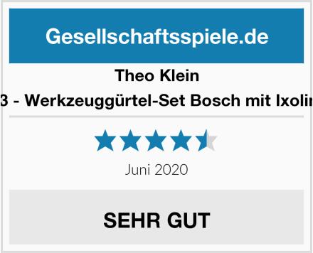 Theo Klein 8313 - Werkzeuggürtel-Set Bosch mit Ixolino II Test