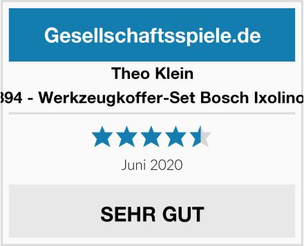 Theo Klein 8394 - Werkzeugkoffer-Set Bosch Ixolino II Test