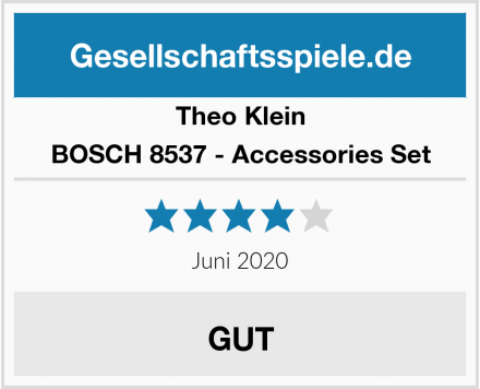 Theo Klein BOSCH 8537 - Accessories Set Test