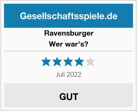 Ravensburger Wer war's? Test