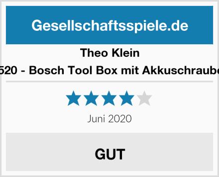 Theo Klein 8520 - Bosch Tool Box mit Akkuschrauber Test