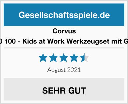 Corvus A 600 100 - Kids at Work Werkzeugset mit Gürtel Test