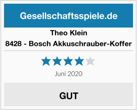 Theo Klein 8428 - Bosch Akkuschrauber-Koffer Test