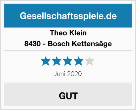 Theo Klein 8430 - Bosch Kettensäge Test