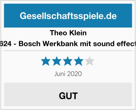 Theo Klein 8624 - Bosch Werkbank mit sound effects Test