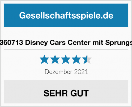 Smoby 360713 Disney Cars Center mit Sprungschanze Test