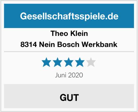 Theo Klein 8314 Nein Bosch Werkbank Test