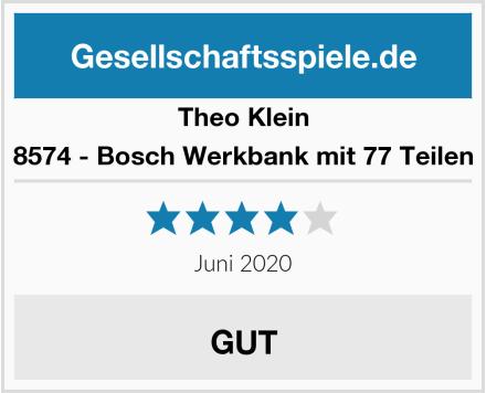 Theo Klein 8574 - Bosch Werkbank mit 77 Teilen Test