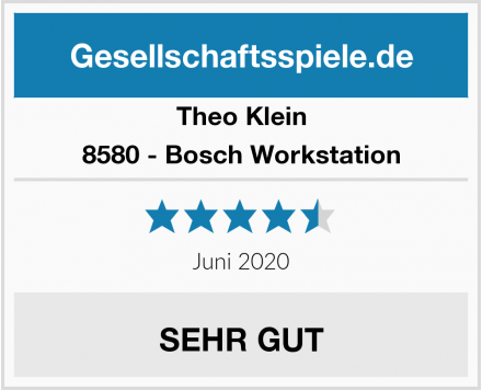 Theo Klein 8580 - Bosch Workstation Test