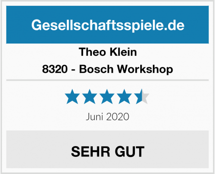 Theo Klein 8320 - Bosch Workshop Test