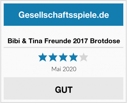 Bibi & Tina Freunde 2017 Brotdose Test