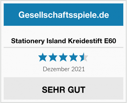 Stationery Island Kreidestift E60 Test