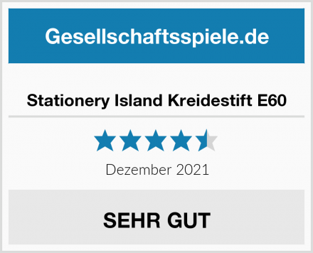 Stationery Island Kreidestift E60 Test