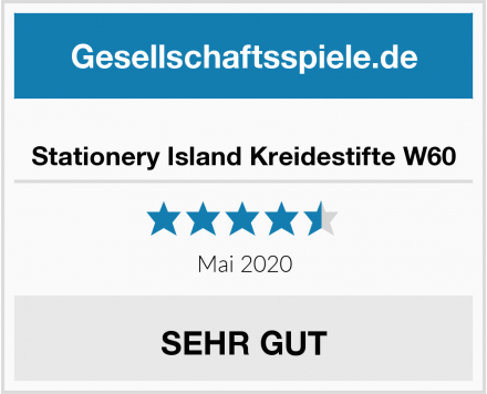 Stationery Island Kreidestifte W60 Test