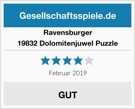 Ravensburger 19832 Dolomitenjuwel Puzzle Test
