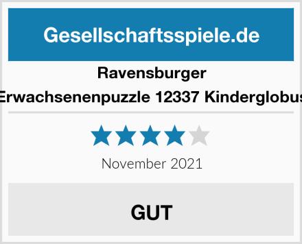 Ravensburger Erwachsenenpuzzle 12337 Kinderglobus Test