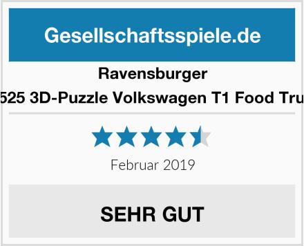 Ravensburger 12525 3D-Puzzle Volkswagen T1 Food Truck Test