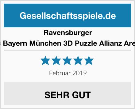 Ravensburger FC Bayern München 3D Puzzle Allianz Arena Test