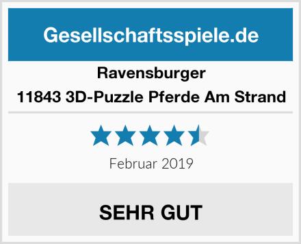 Ravensburger 11843 3D-Puzzle Pferde Am Strand Test