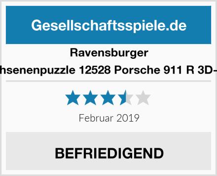 Ravensburger Erwachsenenpuzzle 12528 Porsche 911 R 3D-Puzzle Test
