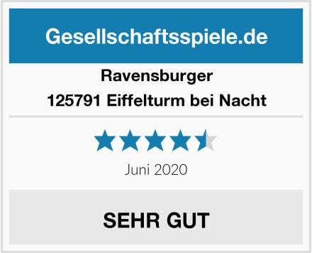 Ravensburger 125791 Eiffelturm bei Nacht Test